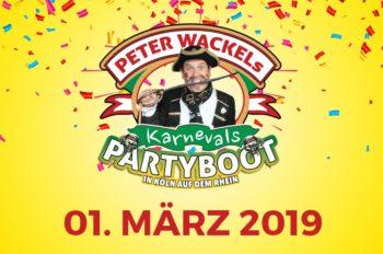 Peter Wackel´s Karnevalsboot 2019 – der Piraten Kult geht weiter!