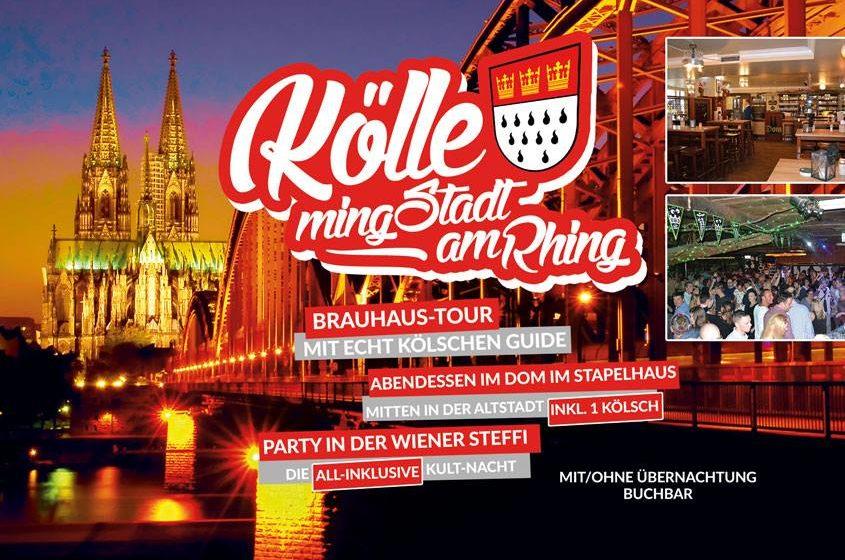 Kölle, ming Stadt am Rhing – Coole Köln Tour, All incl. 2021/22 buchbar
