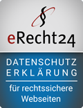 Rechtssichere Website mit eRecht24
