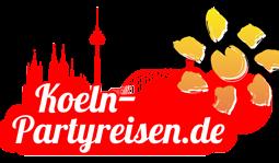 Köln Partyreisen - Logo Koeln-partyreisen.de